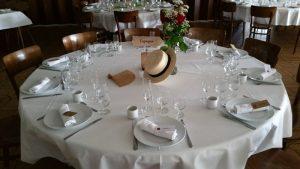 table mariage val de vie